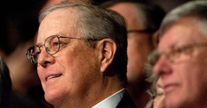 Billionaire David Koch, chairman of the conservative advocacy group Americans for Prosperity